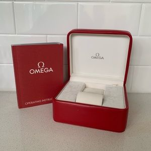 OMEGA Watch Leather box